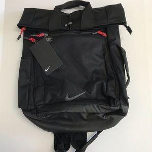 Nike Golf Sport Backpack Athletic Gym Black Red